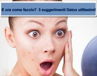 detox sulla pelle - addiotossine