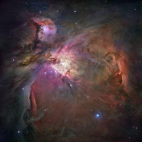 Nebulosa di Orione, piena di idrogeno ionizzato - addiotossine