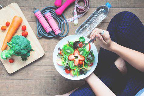 Raggiungere e mantenere il peso forma con la dieta